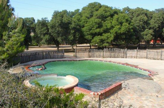 Rancho Los Chabacanos: Alberca