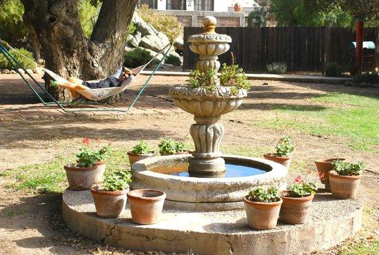 Rancho Los Chabacanos: Parte de la casa principal