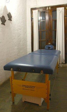 Rancho Los Chabacanos: Cuarto de masajes