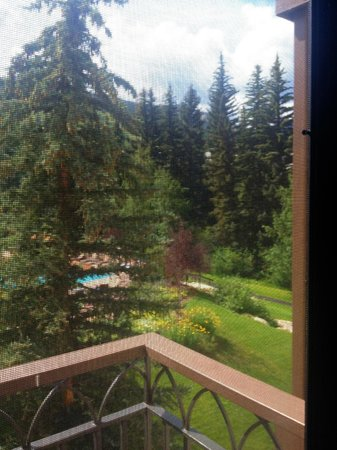 The Charter at Beaver Creek: The view from one of four balconies in our condo.