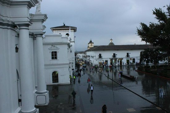 ParkLife Hostel Popayan: just part of the beautiful view from room