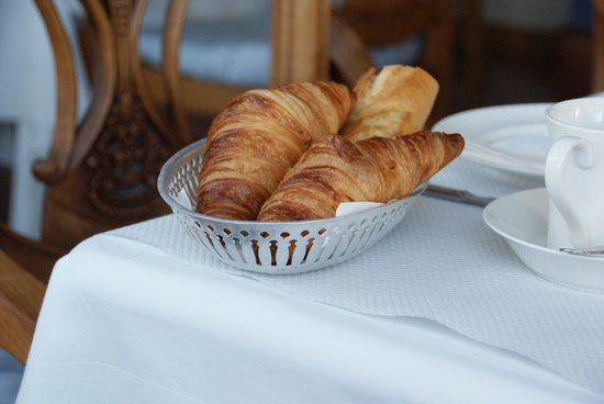 Hotel Restaurant Le Bellevue : Breakfast