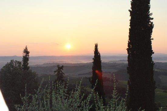 Agriturismo Cesani: Sunrise