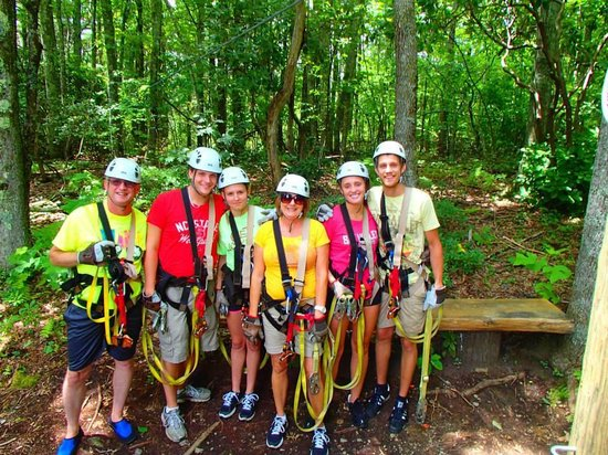 Sky Valley Zip Tours: Ziplining at Sky Valley
