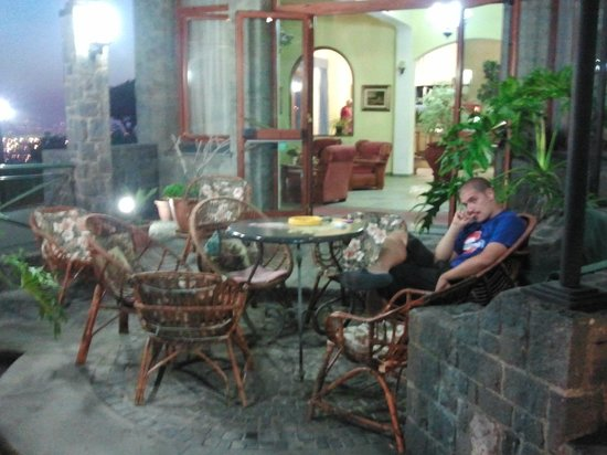Hotel Belvedere : patio