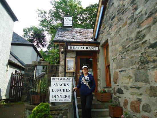 No4 Restaurant: Fachada