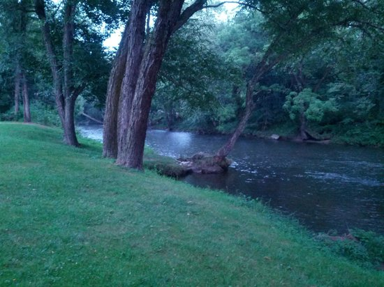 Two Rivers Lodge: river in back