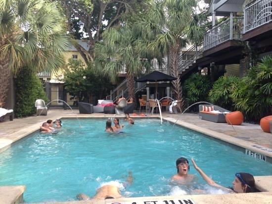 Truman Hotel : piscine