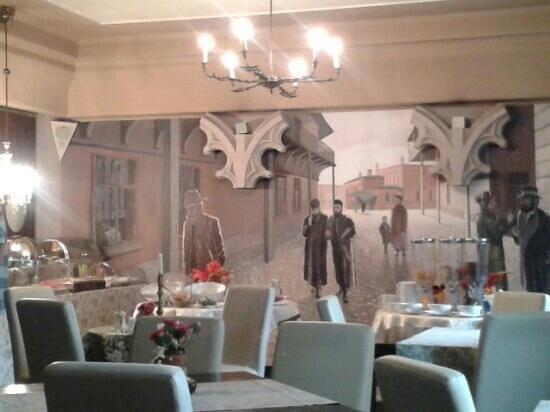 Hotel Ester: breakfast room