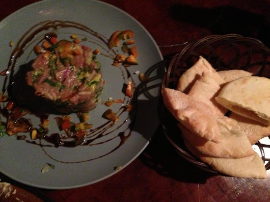 Burger Rancho: Best tuna ceviche I've ever had