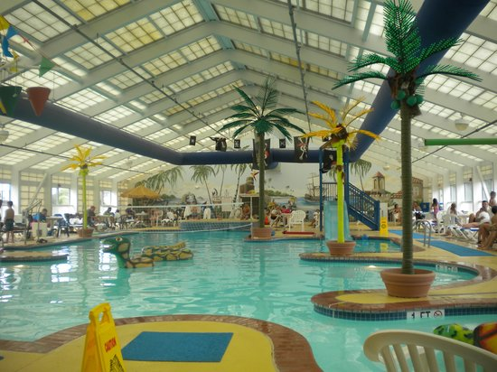 Kids Loved The Indoor Pool Picture Of Francis Scott Key Family Resort Ocean City Tripadvisor
