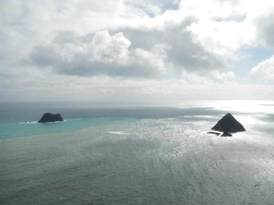 New Plymouth, Nueva Zelanda: Vue du rocher Taripupu