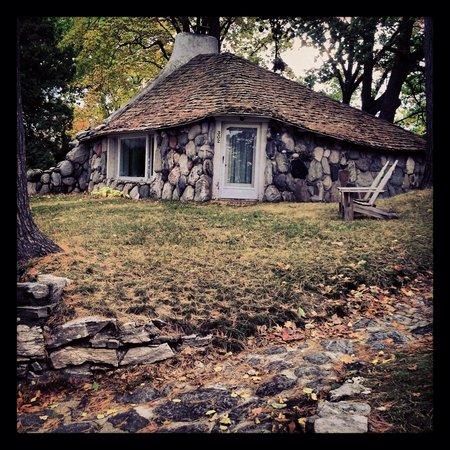 Mushroom Houses of Charlevoix: Delightful