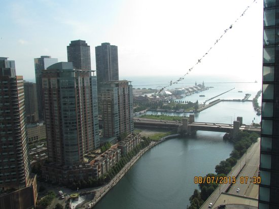 Swissotel Chicago: View From Room 3503