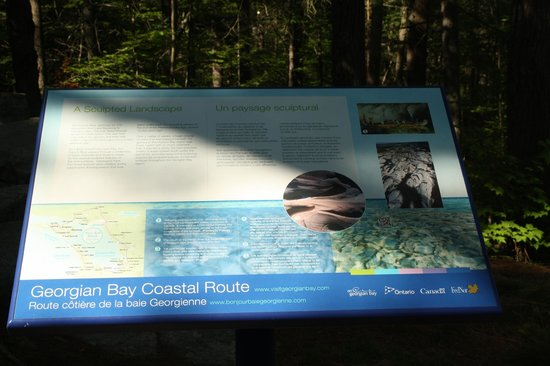 French River Provincial Park: Sign