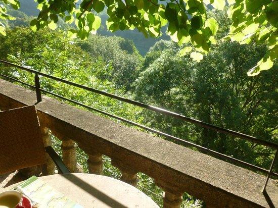 Beau Site-Jehan de Valon : Belle vue depuis la terrasse