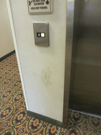 Comfort Suites Myrtle Beach : The elevator