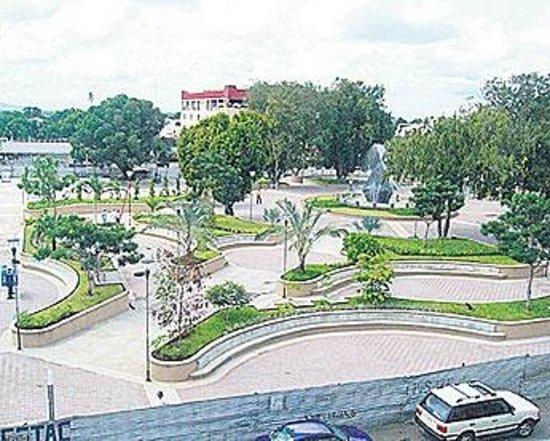 Vista Lateral del Parque Cervantes