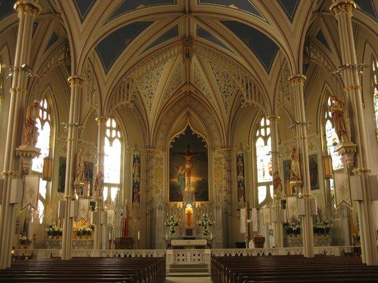 gorgeous interior -- St. Mary Basilica, Natchez, MS