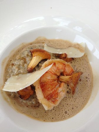 Restaurant Hiely Lucullus: Risotto de homard
