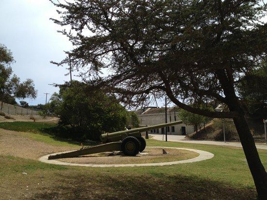 Fort McArthur Military Museum: artillery