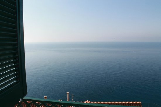Villa Maria Luigia: view from room straight