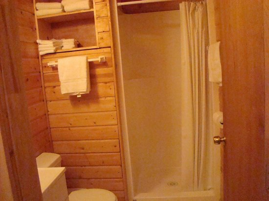 Buffalo Run Campground: Bathroom