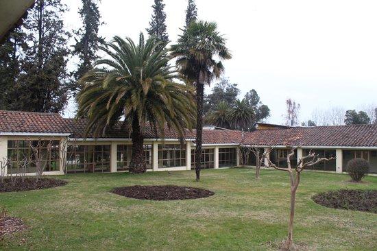 Termas de Quinamavida : Parte de las instalaciones