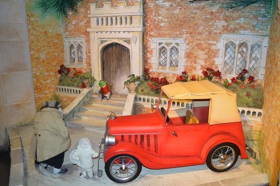 River & Rowing Museum: Wind in the Willows Exhibit
