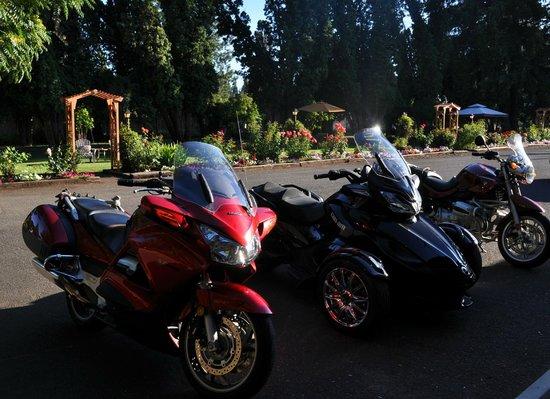 The Royal Coachman Motel: Motorcycle friendly