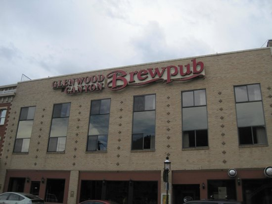 Glenwood Canyon Brewing Company: The outside of the Brewpub