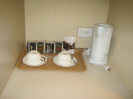 Quality Hotel Ambassador Perth: コーヒーは有り