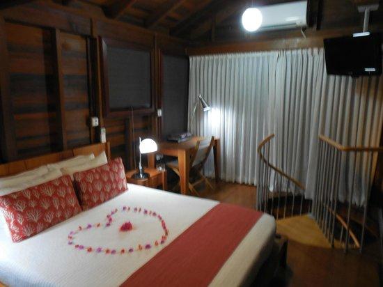 Secret Bay: Our bedroom!