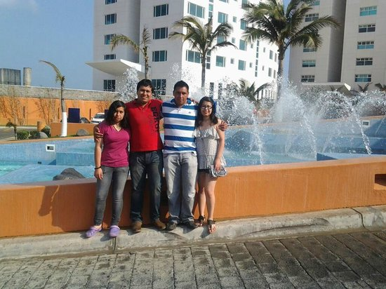 Fiesta Americana Veracruz : entrada al hotel