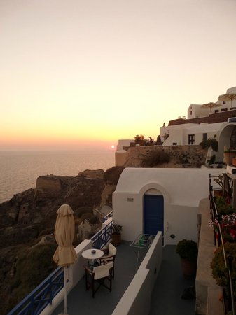 Esperas: Sunset at Esparas