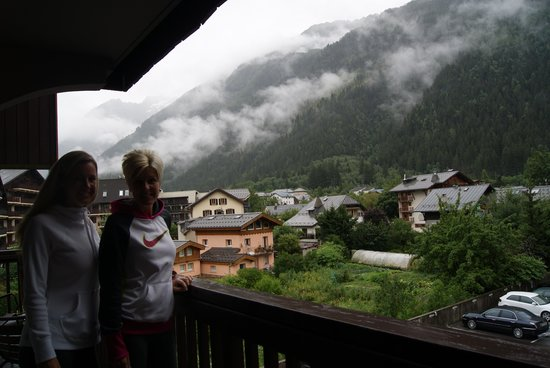 Le Morgane : view from our balcony