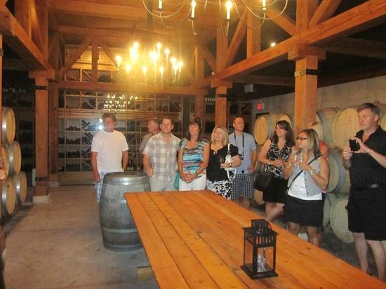 Trius Winery: The cellar