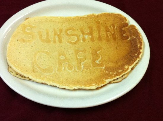 Sunshine Cafe: Sunshine specialty pancake