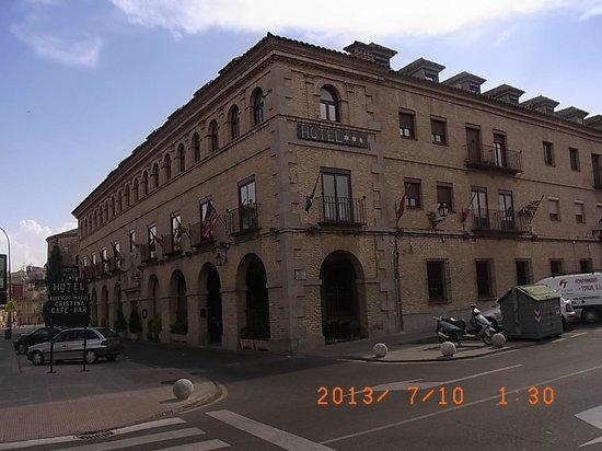 Hotel Maria Cristina: 外観