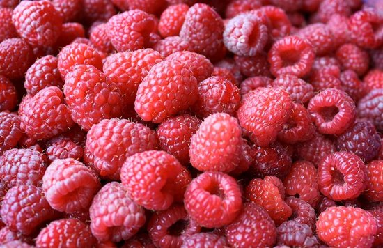Enzo Restaurant & Bar : Raspberries