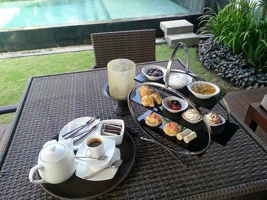 The Samaya Bali Seminyak : Afternoon tea