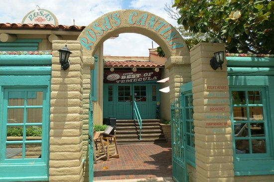 Rosa's Cantina: Indoor seating, Patio seating or take-out.