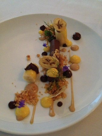 Tallulah on Thames: Chocolate granache dessert
