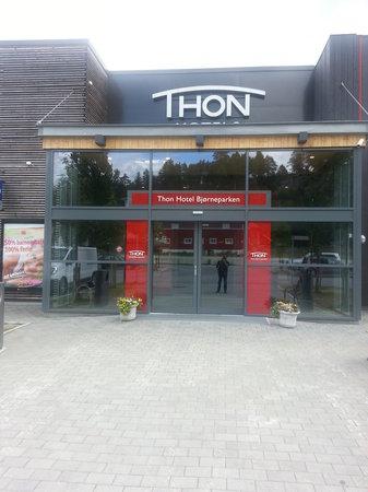 Thon Hotel Bjorneparken : acceso