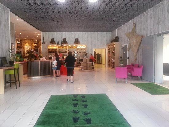 Thon Hotel Bjorneparken : lobby