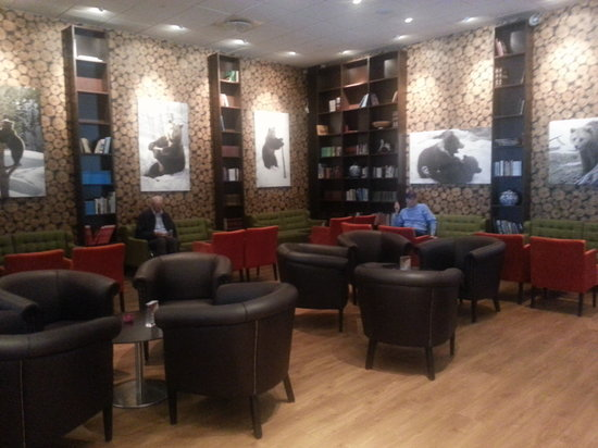 Thon Hotel Bjorneparken : salon comedor