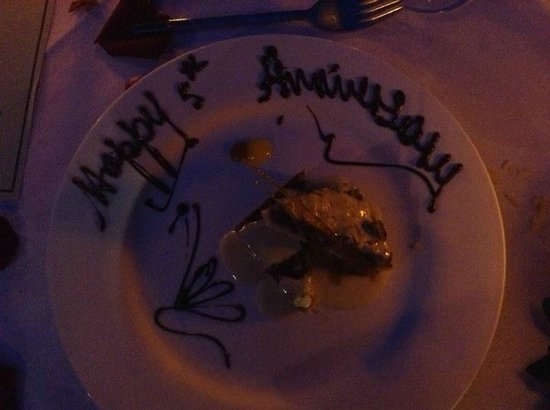 Sandals Royal Caribbean Resort and Private Island: Dessert at Le Jardinier...delicious!