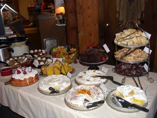 Fat Cat Cafe: Part of the dessert offerings