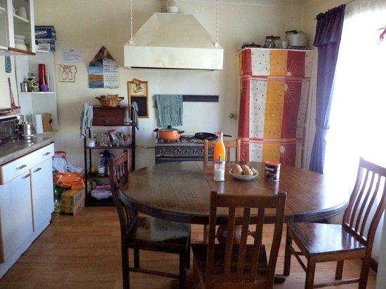 Hostal Bellavista Patagonia: Cocina
