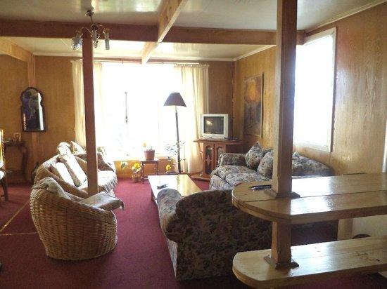 Hostal Bellavista Patagonia: Living